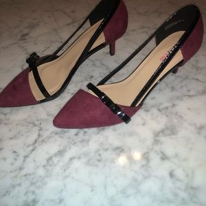 68b38e0c8c5 JustFab Shoes - Women s Heels Size 11 Burgundy Pumps